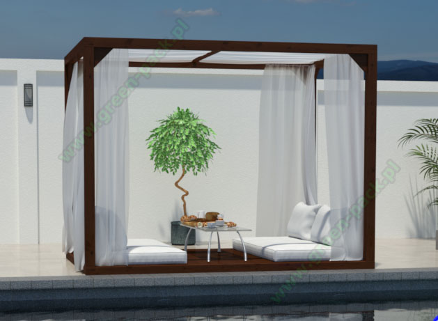Altana Ogrodowa Pergola Tropicana Producent Green Pack